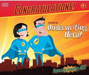 Underwriting hero